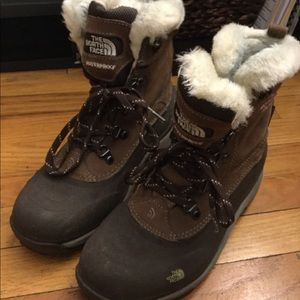 North face waterproof boots